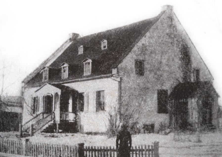 Maison Simon Fraser (circa 1900)